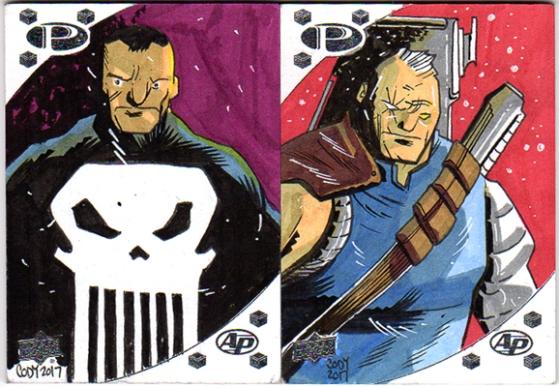 Upper Deck Premier Marvel 2017 AP cards. $30 each, includes U.S. Shipping