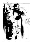 Hagrid. 11x15 on bristol $50.